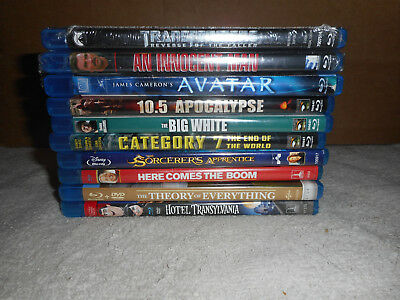 Lot of 10 Different Blu ray Movies All in Good Condition Lot Three