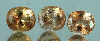 VS 27.80 CT Natural Imperial Champagne Color Topaz Gemstone From Pakistan