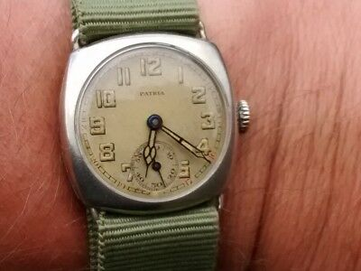 Vintage Patria (Omega/GWC)Trench Style watch