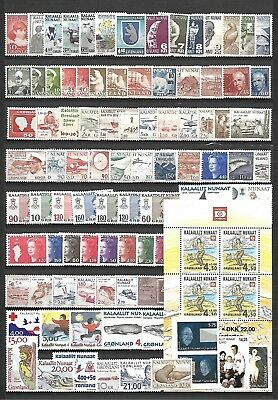 Greenland - Small Collection  - All Mnh