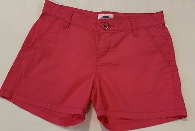 Girls Old Navy Pink Shorts Size 10 Adjustable Waist