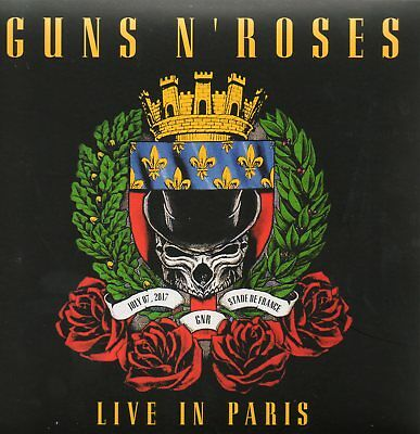 Guns 'n' Roses - Live In Paris (Stade De France 2017) - 3 Cd Cardboard Sleeve