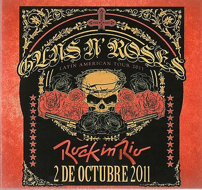 Guns N' Roses - Rock In Rio (Live 2011) - 2 Cd Cardboard Sleeve - Hard To Find