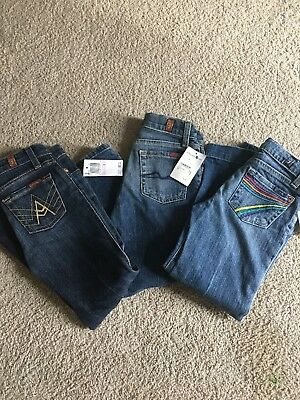 NWT Girls 7 For All Mankind Jeans-Size 6