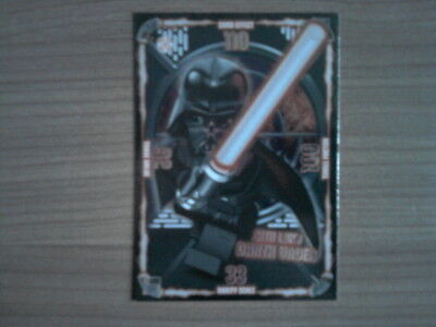 LEGO STAR WARS SERIE 1 Dunkle-Seite-Karte SITH LORD DARTH VADER 76 Card