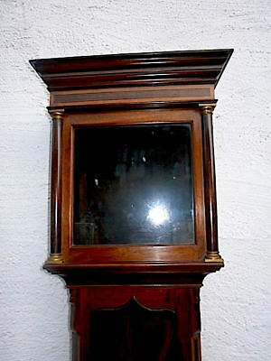 EARLY MAHOGANY  LONGCASE CLOCK  case for a  12 inch dial C1750