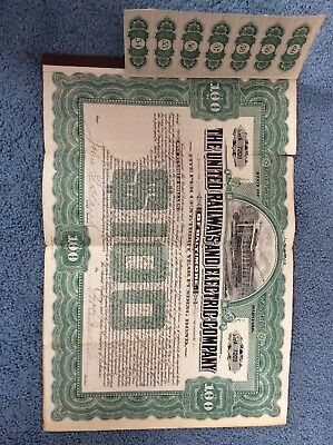 Baltimore railway And Electic Co Bond