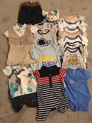 Baby Boy Bundle Summer Wardrobe 3-6 Months Next/ Debenhams/ River Island