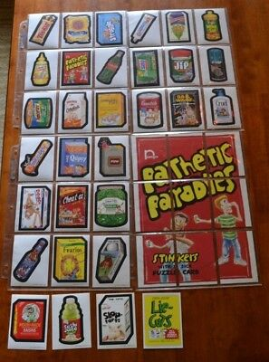 Newhamm Package Parodies Lot 1st Series COMPLETE Set 30/30 Amoray Pathetic Wacky