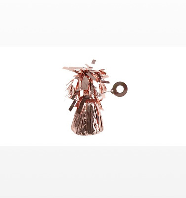 Rose Gold 6oz Foil Tassel Balloon Weights - Pack of 4