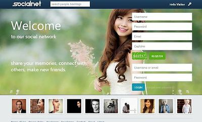 Social Network Website -  One Year Free Hosting + Complete Installation
