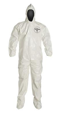DuPont Tychem Coverall SL w/ Respirator Fit Hood 3XL SL128 PPE 4000