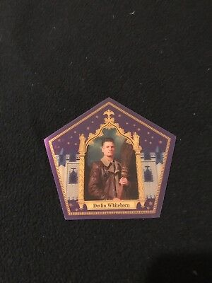 Harry Potter chocolate frog card NEW Devlin Whitehorn Rare Limited Edition