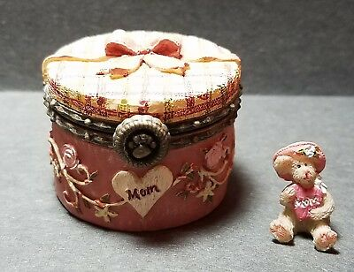 Boyds Bears Treasure Box Martha Mae's Hat Box!!! Special Occasion,  EXCELLENT!!!