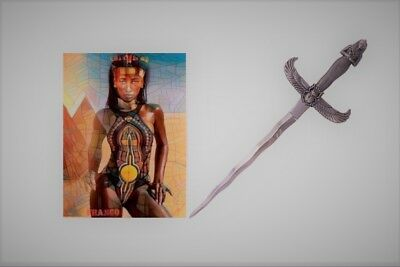 "13.75"" EGYPTIAN QUEEN MUMMY FANTASY ATHAME DAGGER Pharaoh Medieval King Sword"