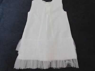 VINTAGE 1950s /60s COTTON AND NET UNDERSLIP WENDY WEAR AGE 1 1/2- 2 YEARS