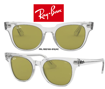 cf0b66942f42 Ray-Ban RB2168 912 4C Meteor Evolve Sunglasses Transparent Green Photocromic