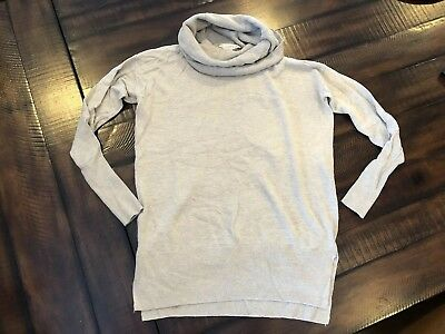 LOFT Maternity Cowl Neck Sweater Size Extra Small