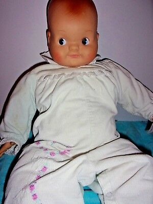 Large Madame Alexander So Big Pumpkin Cuddly Baby Doll W/working Crier