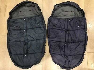2 X Mountain Buggy Duet Footmuffs