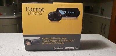 Parrot MKi9100 Car Bluetooth Hands Free Phone Bluetooth and Auto leads SOT-976FB