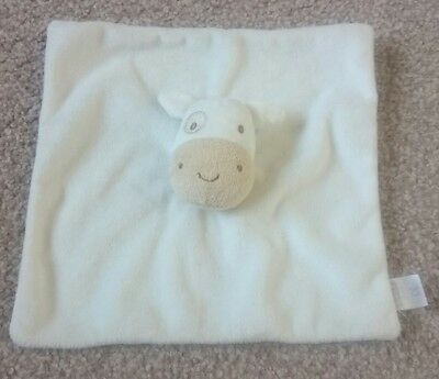 BOOTS MINI CLUB COW CALF BLANKIE Baby Comforter blanket Soft Toy Plush