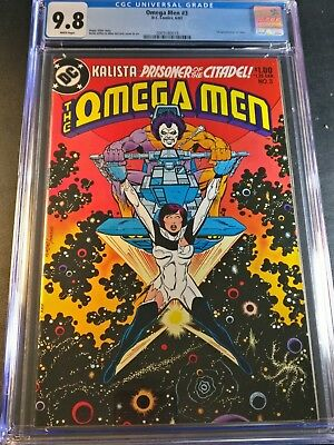 1983 Omega Men #3 CGC 9.8 WP 1st Appearance of Lobo