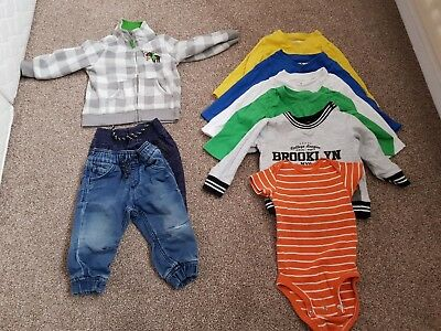 Baby boys winter bundle age 9-12 months, Next, Mothercare etc