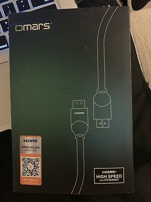 OMARS® Premium HDMI Cable 3m Premium Speed High Support 4k@60Hz V2.0