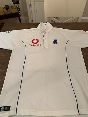 England Cricket Shirt Adults Size L (Official ECB Product)