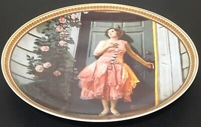 """Norman Rockwell """"Standing in the Doorway"""" Collector Plate #9046A - Free Shipping"""