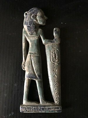 Rare Large Ancient Egyptian Queen Pendant 26th DYN 680 BC