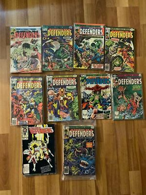 Marvel Comics The Defenders and The New Defenders LOT see description for titles