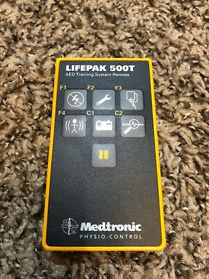 Remote Control For Medtronic Physio-Control LifePak 500T AED Trainer