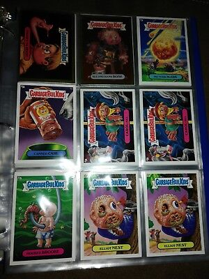 Garbage Pail Kids 45 cards Wacky Packages 8 cards with binder and card pages