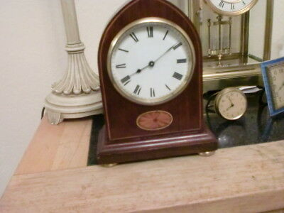Fantastic French 8Day Victoran Gothic  Clock Mahogany Case New Platform 1900