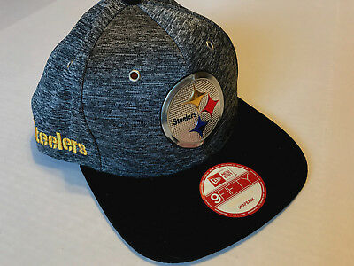 e3f4b08aa1f28 Nwt-New Era 9Fifty~ Nfl~Pittsburgh Steelers Draft Snapback ~Hat Cap