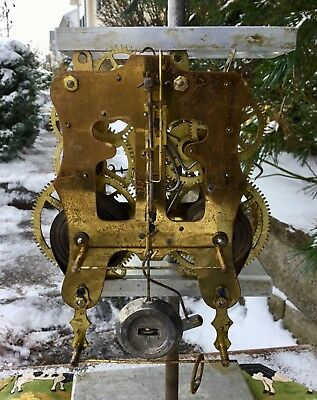 Kroeber Movement in Running and Striking Condition with mounting screws