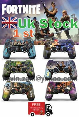 Fortnite Battle Royale Shooter Ps4 Playstation 4 Controller Pad Sticker Skin 1Pc