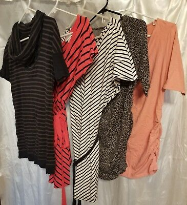 Maternity Clothes Size S, Lot of 39 (22 shirts, 2 dresses, 2 skirts, 13 pants)