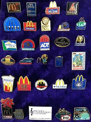 RARE McDonalds Corporate Supplier Pin Lot 1998 Worldwide Convention
