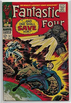 Fantastic Four #62 - First Appearance of Blastaar!  Marvel Silver Age FN NO RES