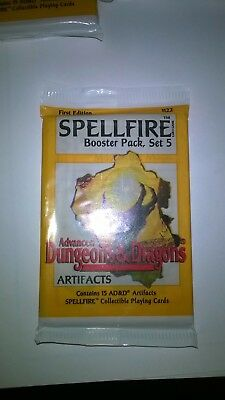 Spellfire Artifacts 5 Sealed Boosters from set 5