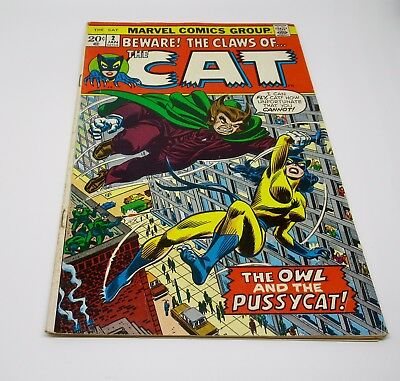 The Cat Marvel Comics Group The Owl and the Pussycat  January  1973 Vol. 1 No. 2