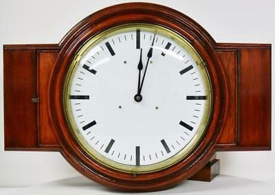 Very Rare Original Antique London Underground Electric Tube Station Public Clock