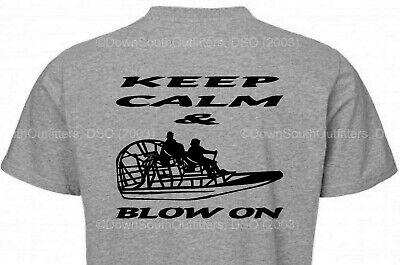 3XL Airboat Life Junkie Love Airboating Adult Tshirt Many Colors Sizes XL 2XL