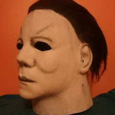 Michael Myers Halloween Mask Trick or Treat Studios H2 (Customized) into a H1