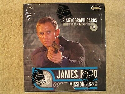 SEALED BOX 2011 Rittenhouse Archives James Bond Mission Logs Trading Cards
