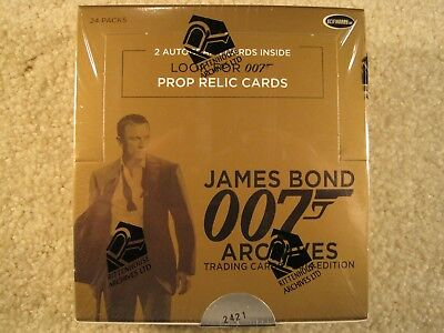 SEALED BOX 2014 Rittenhouse Archives James Bond Archives Trading Cards