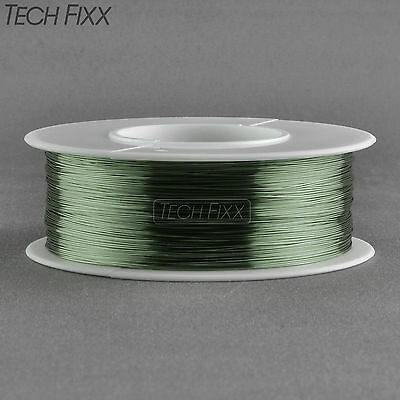 Magnet Wire 28 Gauge Enameled Copper 350 Feet Coil Winding and Crafts Green